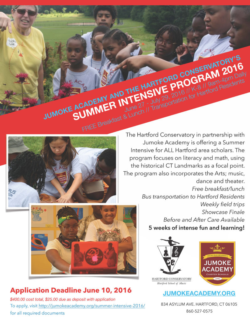 Summer Intensive 2016 flyer