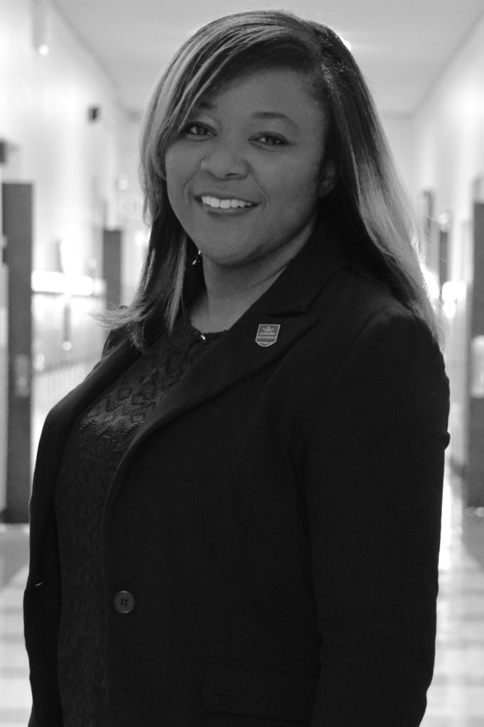 Dean of students and Enrichment, Latoya Johnson